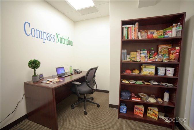 registered new york nutritionist and co founder of compass nutrition a private nutrition counseling practice in manhattan the office is conveniently